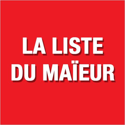 La liste du Maïeur