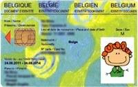 carte d'identité enfant