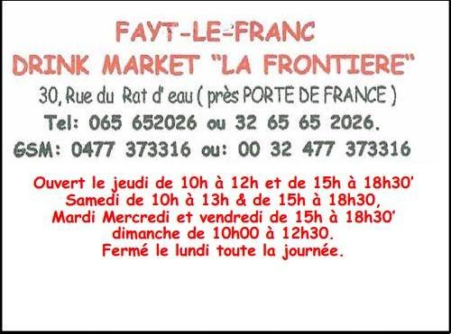Drink Market   La frontière